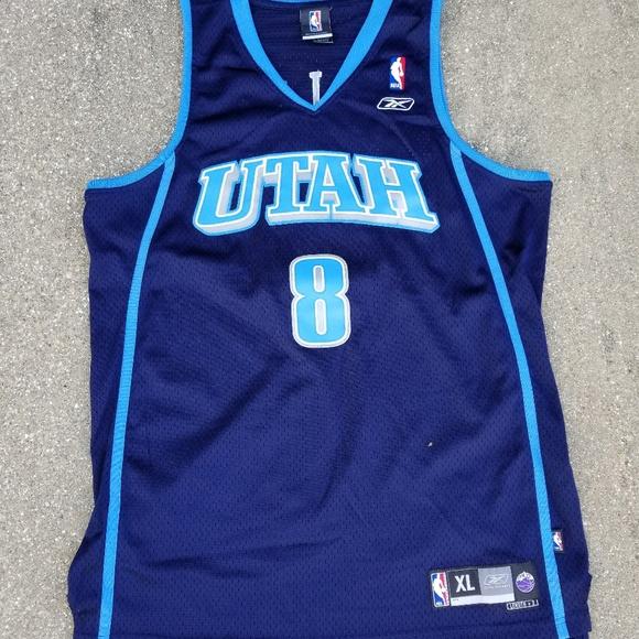 quality design bb8d9 71a9f Deron Williams Utah Jazz jersey